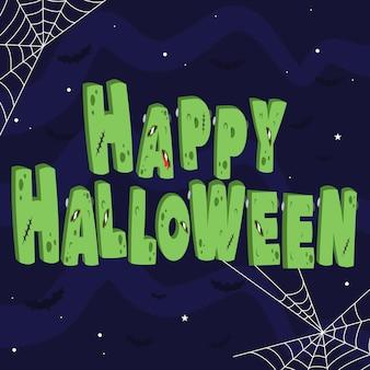 Happy halloween napis