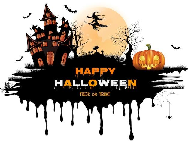 Happy halloween w tle