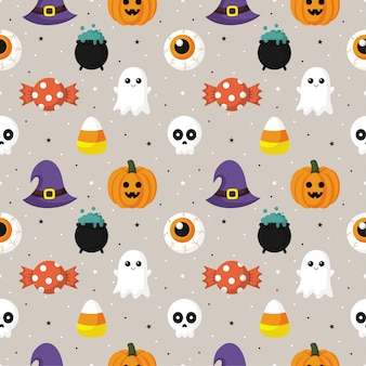 Happy halloween wzór