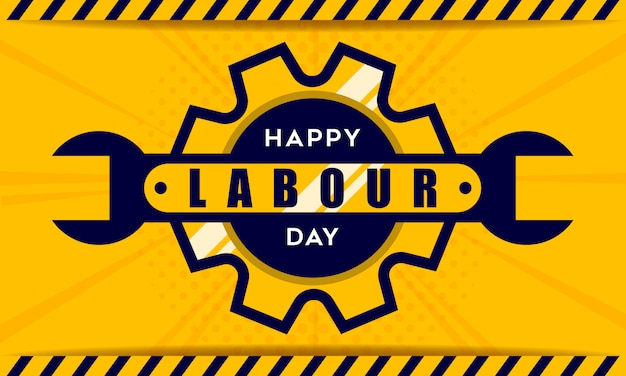 Happy labor day tło