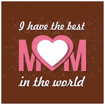 Happy mothers day lettering handmade kaligrafia ilustracji wektorowych kartki matki dzień