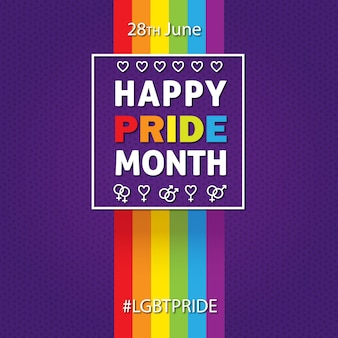 Happy pride month 28th june lgide pride