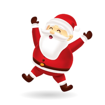 Happy santa skoki