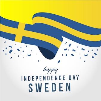 Happy uea independent day szablon wektora