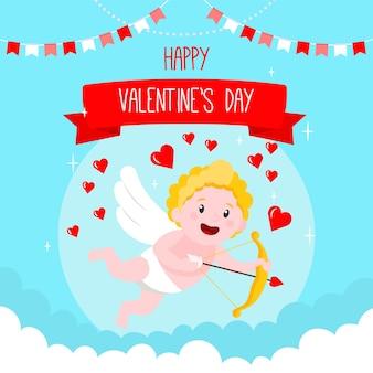 Happy valentines day pozdrowienie card