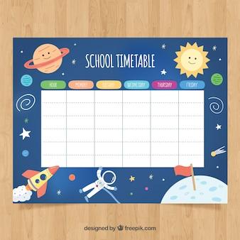 Harmonogram szkolny do zorganizowania