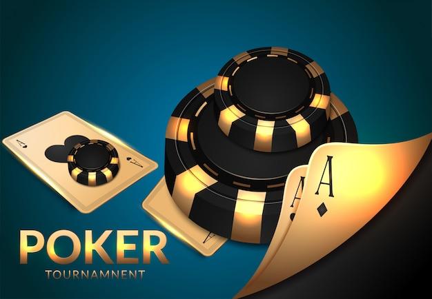 Hazard w kasynie, koło ruletki i kości, szczęście i wygrana.