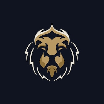 Head lion logo
