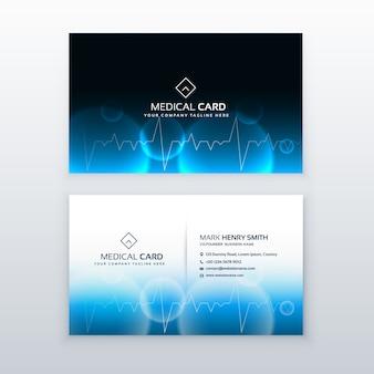 Heallthcare medycznych wizytówkę wektor projektowania