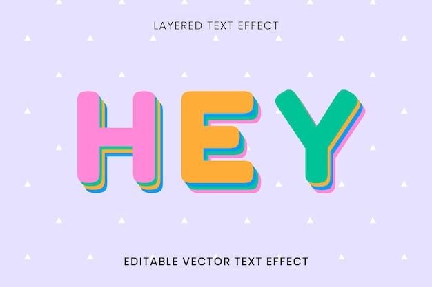 Hej powitanie edytowalny tekst