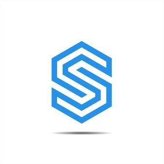 Heksagonalne logo s