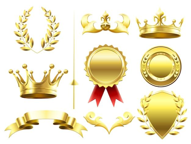 Heraldyczne elementy 3d