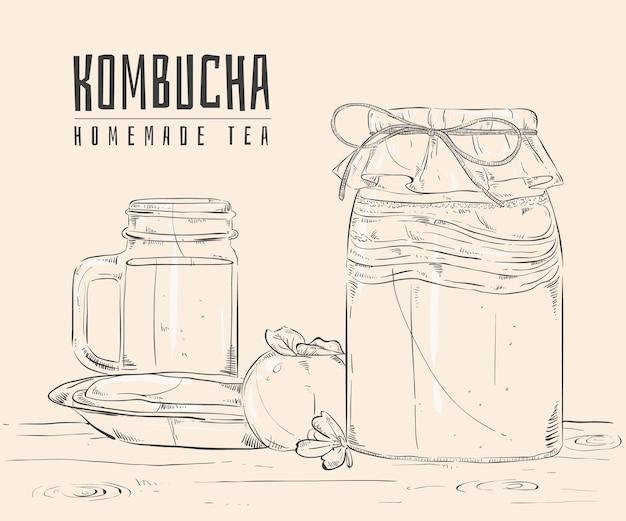 Herbata kombucha