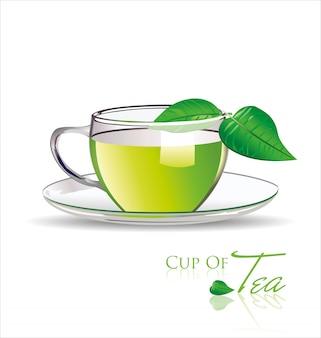 Herbata w tle