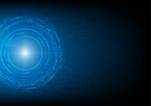 Hi-techian, koncepcja technologii wektorowej.