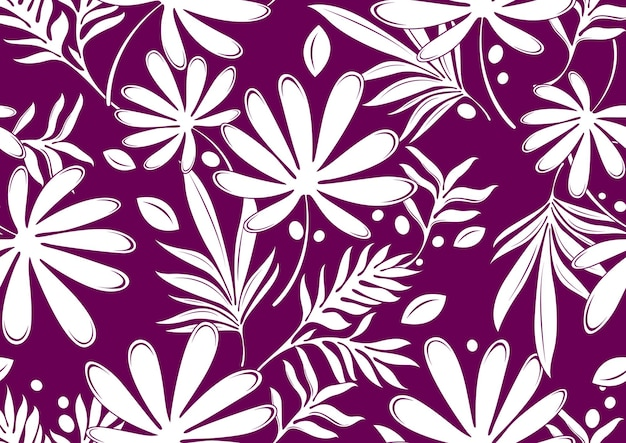 Hibiskus hawaje wzór, moda tło.