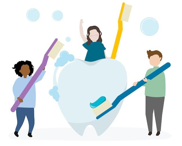 Higiena jamy ustnej i opieka zdrowotna