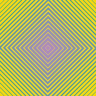 Hipnotyczny wzór geometryczny. kreatywna i elegancka ilustracja stylu