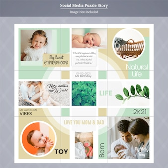 Historia instagram dla rodziny i dzieci