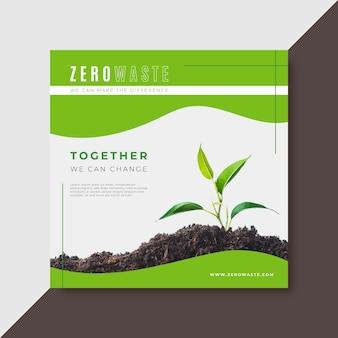 Historia na instagramie zero waste