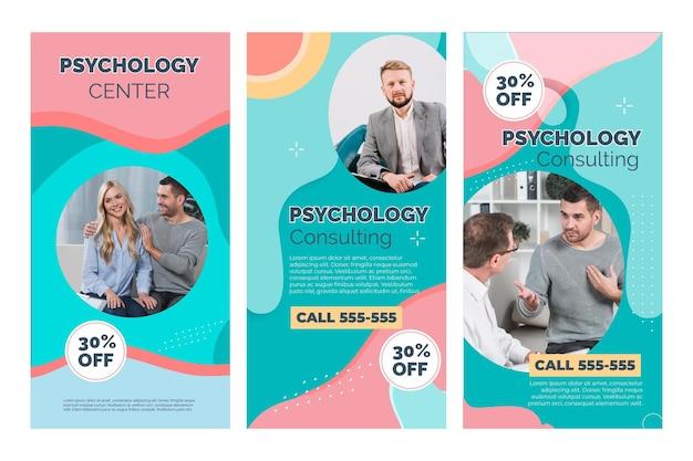 Historie na instagramie dotyczące psychologii