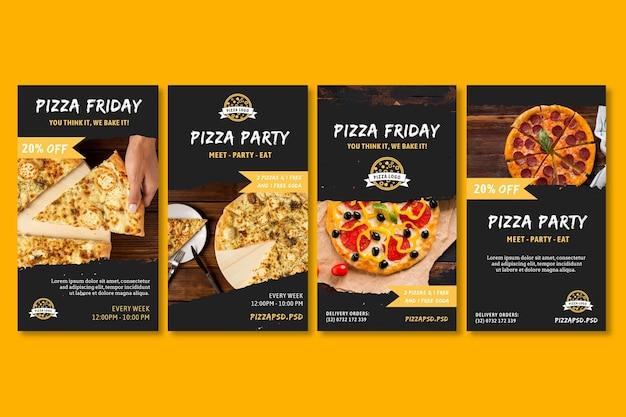 Historie z pizzerii na instagramie