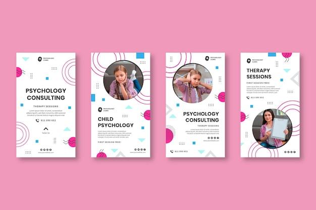 Historie z psychologii na instagramie