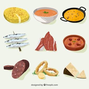 Hiszpańskie jedzenie