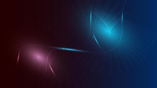 Hitech komunikacja koncepcja innowacja tło nauka i technologia cyfrowa