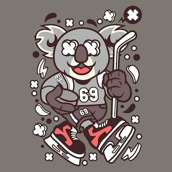 Hokej na koali