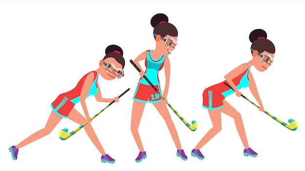 Hokej na trawie kobieta