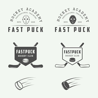 Hokejowe emblematy