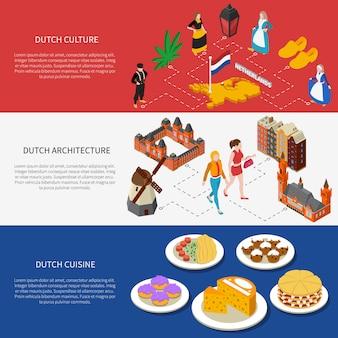 Holandia banery turystyczne