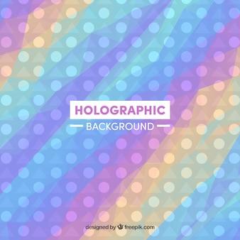 Holograficzne kolorowe tło z kręgów