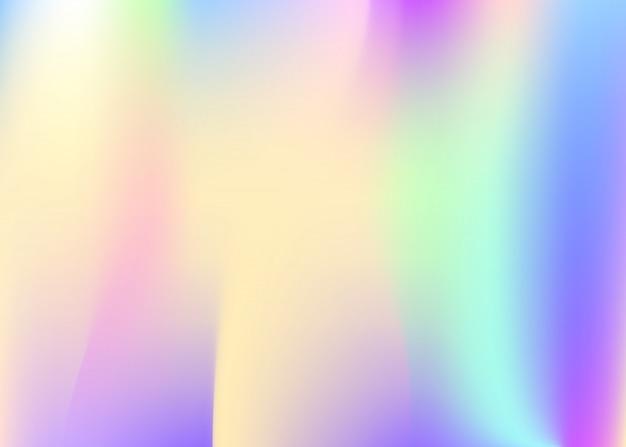 Holograficzne streszczenie tło.