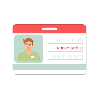 Homeopatyczna karta specjalisty medycznego