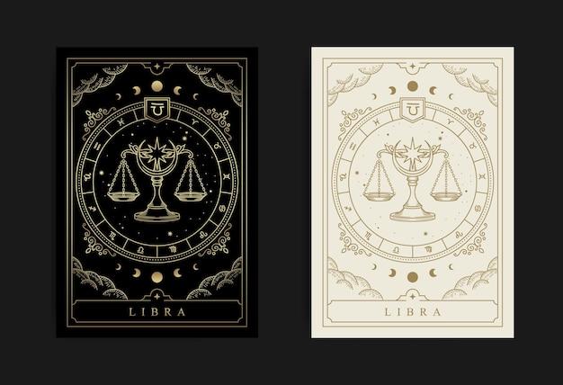 Horoskop wagi i symbol zodiaku