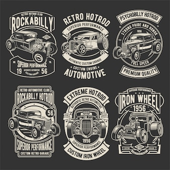 Hotrod badges pack