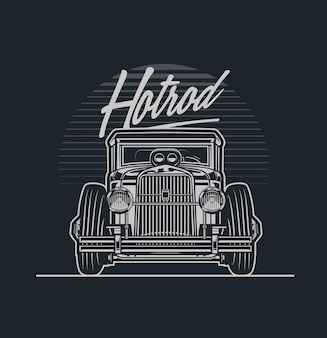 Hotrod car