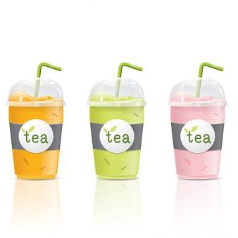 Ice tea cup