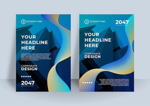 Identyfikacja wizualna okładka biznes wektor projekt, ulotka broszura reklamowa streszczenie tło, ulotka nowoczesny plakat szablon układu magazynu, roczny raport do prezentacji
