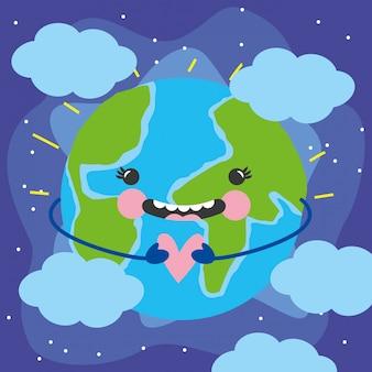 Idź zielony dzień ziemi