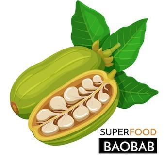 Ikona baobabu.