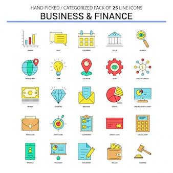 Ikona biznesu i finansów