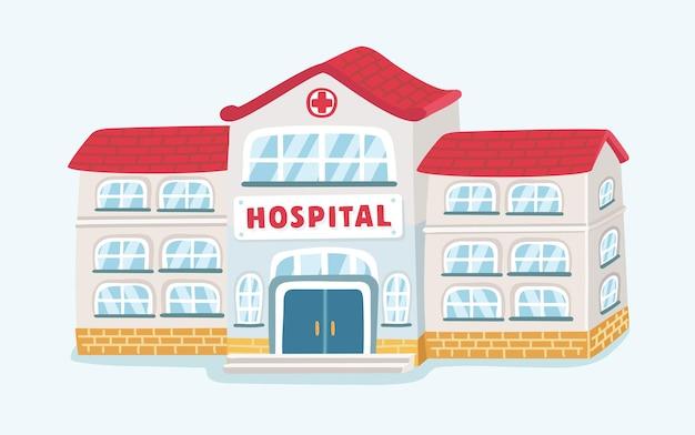 Ikona budynku szpitala