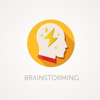 Ikona burzy mózgów