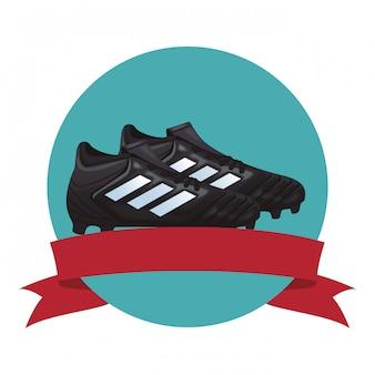 Ikona buty piłkarskie