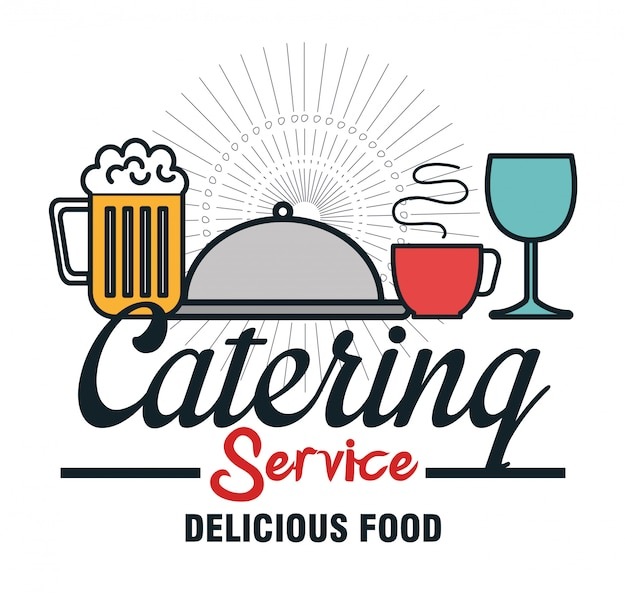 Ikona catering usługi gastronomiczne