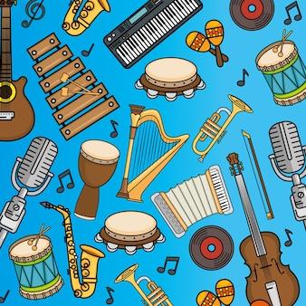 Ikona instrumentów muzycznych