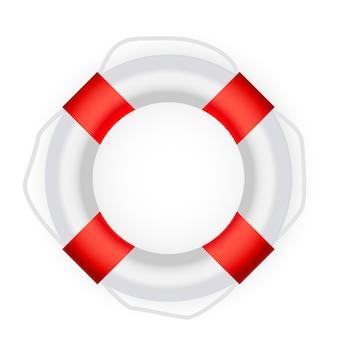Ikona koło ratunkowe. ilustracja